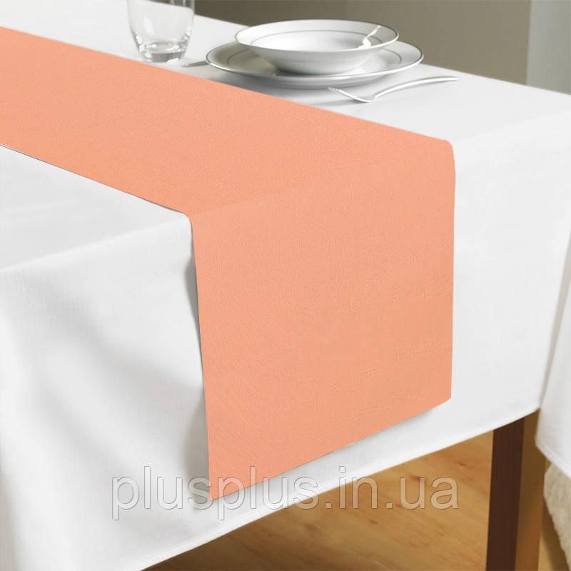 Доріжка на стіл Time Textile Kanzas Salmon TT129322-r 40x140
