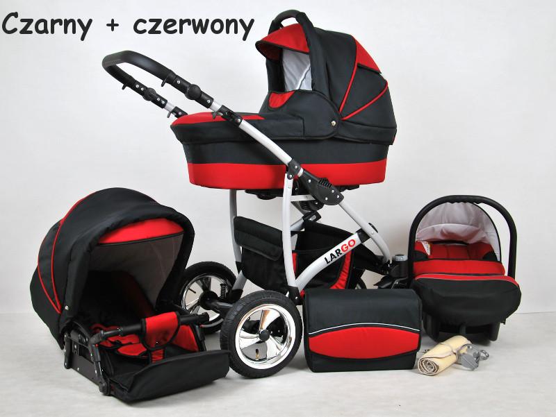 Дитяча коляска 3в1 LARGO RAF-POL