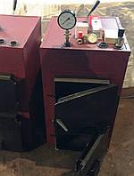 Котел твердотопливный, 12 кВт (обогрев 120 м.кв.), фото 1