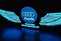 Audi авто эквалайзер / автоэквалайзер на заднее стекла автомобиля 80*19 см