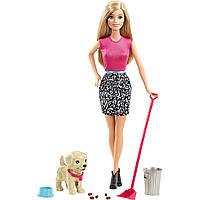 Оригинал. Кукла Barbie со щенком Mattel N43
