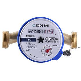 """Лічильник холодної води ECOSTAR DN15 1/2"""" L110 E-C 2,5"""