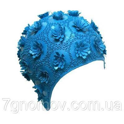 Шапочка для плавання BECO 7410 6 синя, фото 2