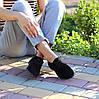 Актуальні чорні замшеві туфлі натуральна замша, фото 2