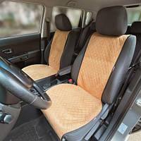 Накидки чехлы на автомобильные сиденья из Алькантары
