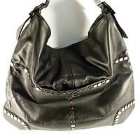 Кожаная женская сумка Givеnchy черная на плечо c заклепками