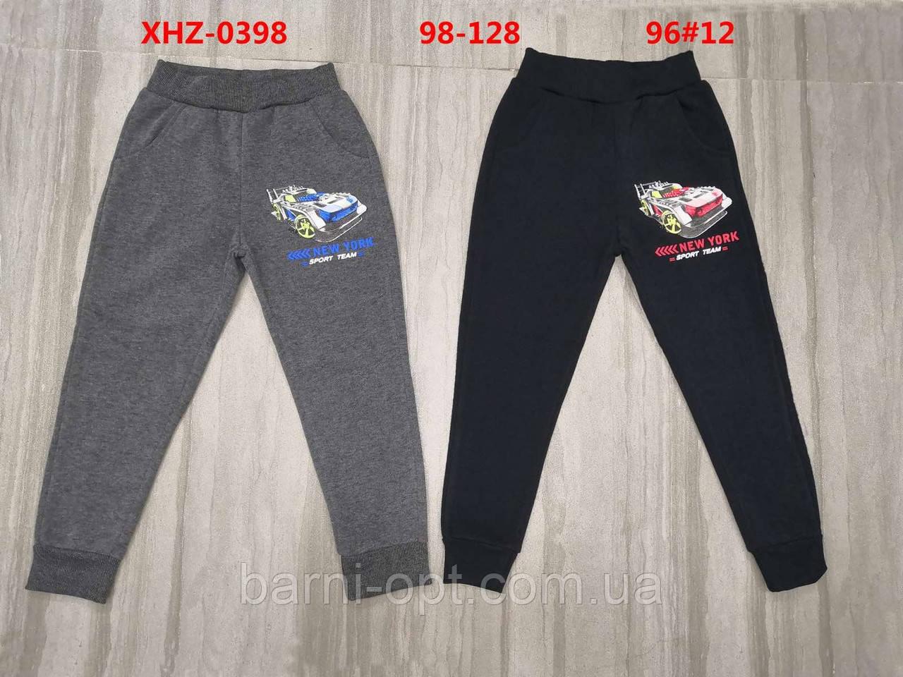 Спортивные брюки утепленные на мальчика оптом, Active sports, 98-128 рр