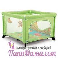 Манеж игровой Chicco Open Baby Green