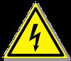 Предупреждающий знак «Опасность поражения электрическим током»
