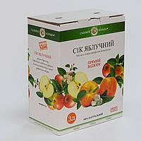 Яблочный сок ТМ Садовое кольцо, 3 л