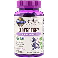 Garden of Life MyKind Organics Elderberry 120 жевательных конфет