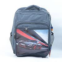 Рюкзак детский для мальчика модель P02 - черный