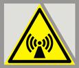 Предупреждающий знак «Внимание! Электромагнитное поле».
