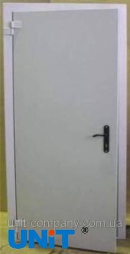 Утепленные металлические двери 1 и 2-польные