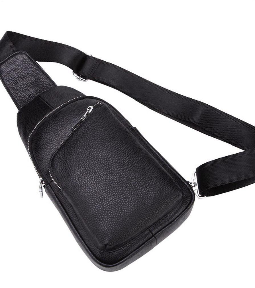 Мужской кожаный рюкзак Borsa Leather K16603-brown