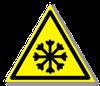 Предупреждающий знак «Осторожно. Холод».