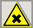 Предупреждающий знак «Осторожно. Вредные для здоровья аллергические (раздражающие вещества)».