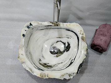 Умывальник(раковина) из природного камня (мрамора) экологически чистый