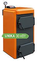 Твердотопливный котёл отопления пиролизный  КОТэко Unika 30