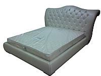 """Кожаная кровать """"Queen"""""""