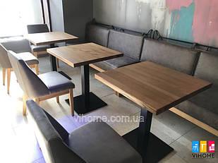 Стільниці з Ясена для кафе і ресторанів