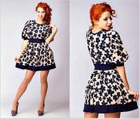 Платье-ромашка женское
