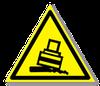 Предупреждающий знак «Осторожно. Возможно опрокидывание».