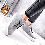 Ботинки женские Tad серые 2924, фото 4