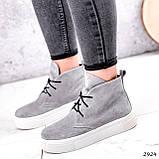 Ботинки женские Tad серые 2924, фото 6