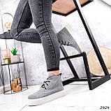 Ботинки женские Tad серые 2924, фото 7