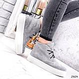 Ботинки женские Tad серые 2924, фото 9