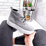 Ботинки женские Tad серые 2924, фото 10