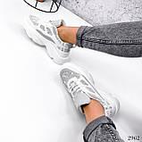 Кросівки жіночі Risto білі + сірий 2962, фото 2
