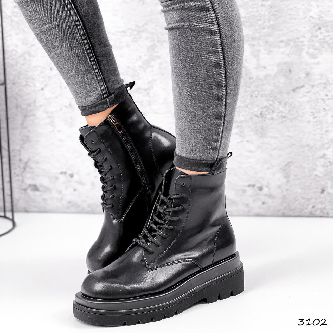 Ботинки женские Norica черный 3102