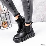 Черевики жіночі Bale чорний 3107, фото 4