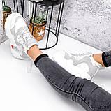 Черевики жіночі Sportik білі + сірі 3132, фото 10