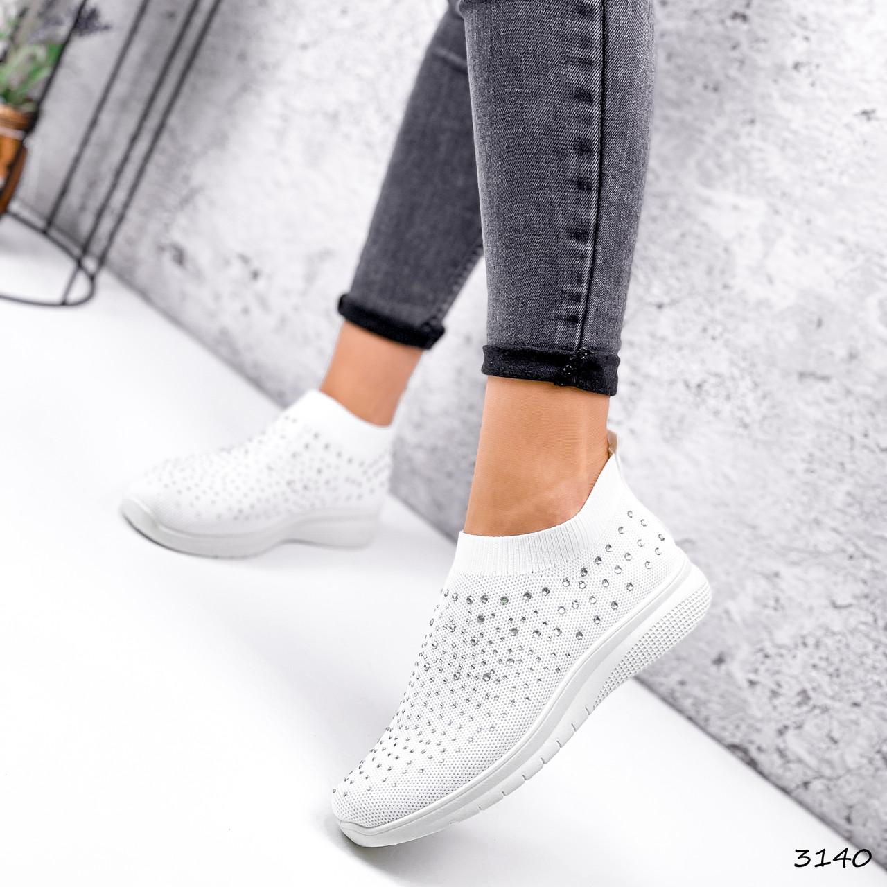Кросівки жіночі Selena білі 3140