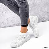 Кросівки жіночі Selena білі 3140, фото 3