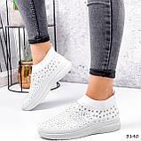 Кросівки жіночі Selena білі 3140, фото 4