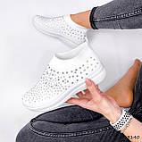 Кросівки жіночі Selena білі 3140, фото 6