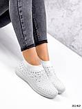 Кросівки жіночі Selena білі 3140, фото 8