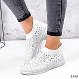 Кросівки жіночі Selena білі 3140, фото 9