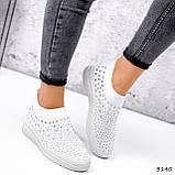 Кросівки жіночі Selena білі 3140, фото 10