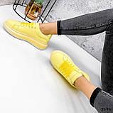 Кроссовки женские Macis желтые 3196, фото 5