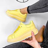 Кроссовки женские Macis желтые 3196, фото 8