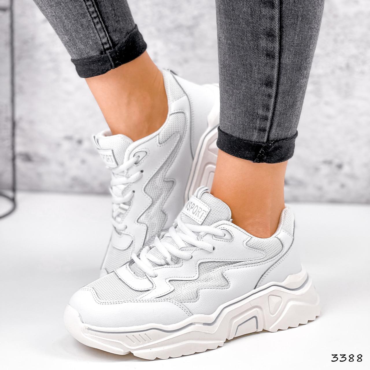 Кросівки жіночі Mina білий 3388