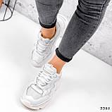 Кросівки жіночі Mina білий 3388, фото 2