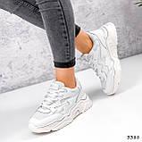 Кросівки жіночі Mina білий 3388, фото 3