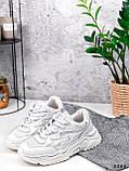 Кросівки жіночі Mina білий 3388, фото 4