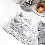Кросівки жіночі Mina білий 3388, фото 5